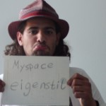 myspace - eigenstil